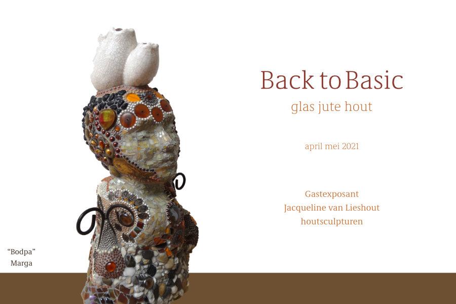 kaart expo Back to Basic - de Kunstraad - achterzijde
